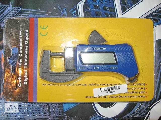 продам Мікрометр цифровий товщиномір електронний 0-12, 7мм бу в Запоріжжі