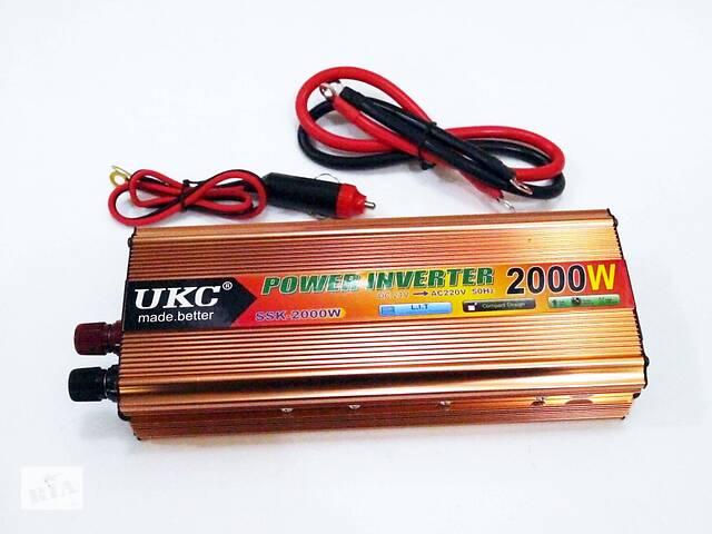 бу Инвертор 2000W 24V Преобразователь тока AC/DC Gold в Хмельницком