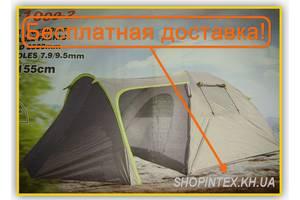 Новые Палатки четырехместные Green Camp