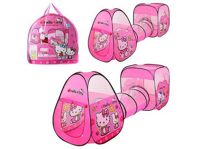 Детская палатка с тоннелем Hello Kitty M 3775- объявление о продаже   в Украине