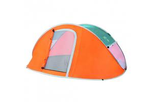 Палатка туристическая Bestway 68005 (235*190*100 см), 3-местная, антимоскитная сетка, сумка
