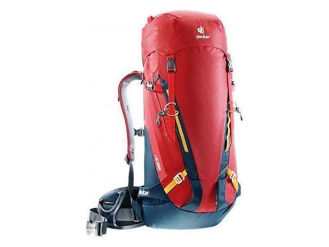 купить бу Рюкзак Deuter Guide 35+ (Красно-серый fire-arctic) в Дубно
