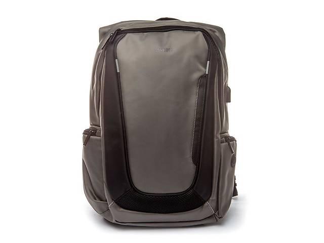 купить бу Рюкзак мужской городской с USB Madrid BST 320002 30х15х47 см. серый в Одессе