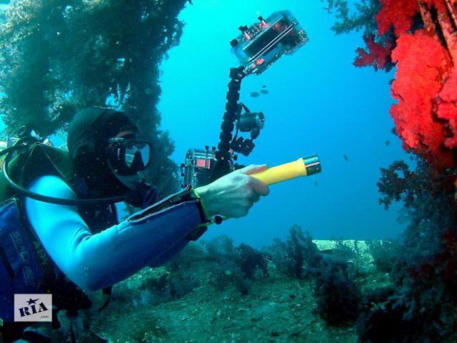 Товары для подводной охоты Фонари для подводной охоты POP Lite F2 новый- объявление о продаже  в Киеве