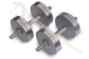 Гантели стальные наборные 2х16 кг (32 кг пара)