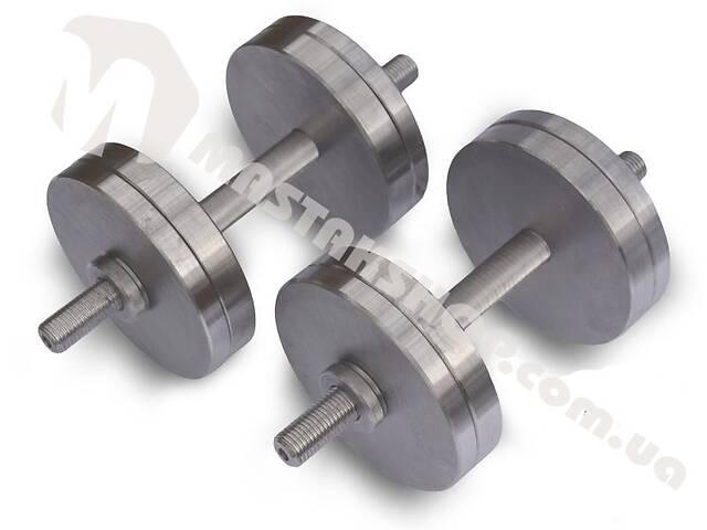 бу Гантели стальные наборные 2х16 кг (32 кг пара) в Киеве