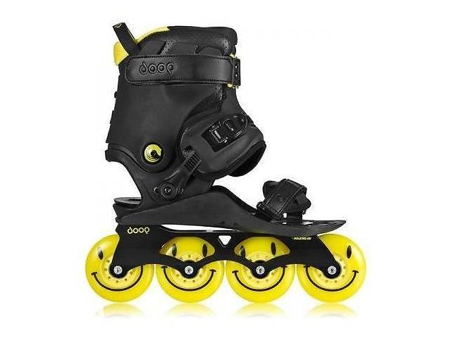 продам Ролики Doop Freestyle 2 Skates Black/Yellow Skates (43-48, Жовтий) бу в Києві