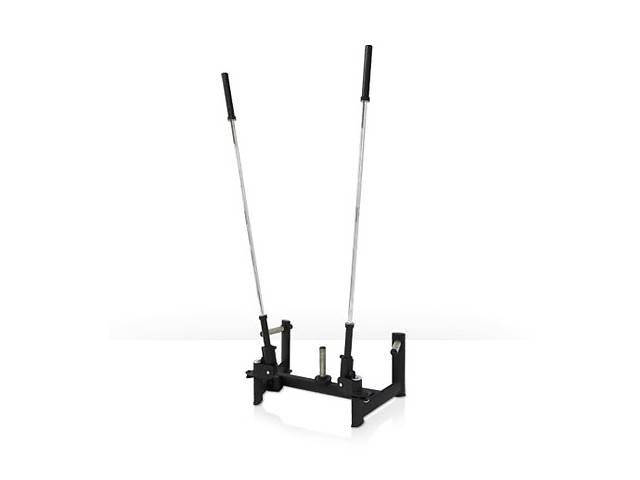 купить бу Тренажер - Двойная фиксированная штанга GYM80 Sygnum Functional Performance Dual Barbell Rotation в Днепре (Днепропетровск)