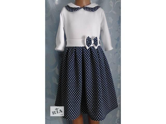 бу Трикотажное детское платье со складками, модель № 2 в Хмельницком