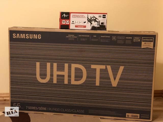 SamsungUE43-50-55RU7472 Smart TV, 4K UHD- объявление о продаже  в Самборе