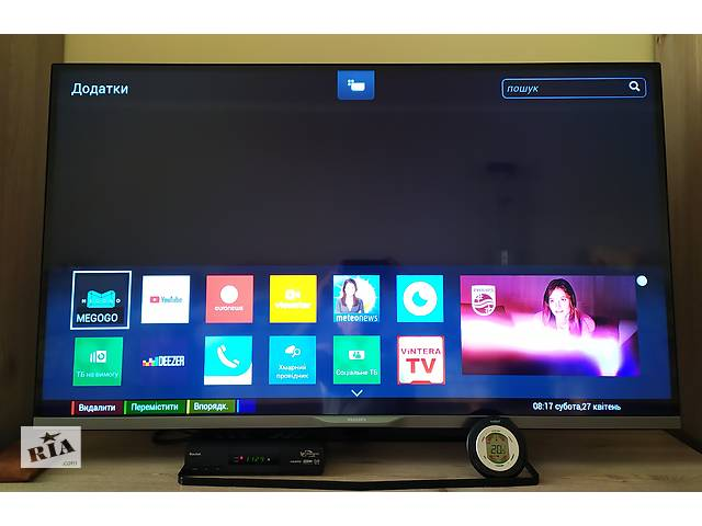 продам Телевизор Philips TV 47PFT5609. бу в Тернополі