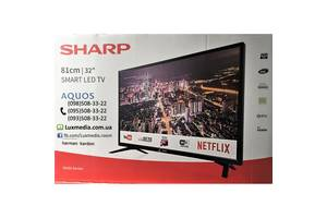 Телевизор Sharp LC-32HI5432 ( AM 200Гц, HD Ready, Smart TV, DVB-C/T2/S2)