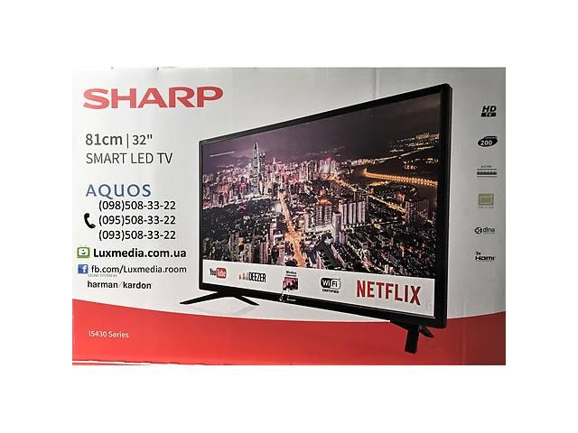 продам Телевизор Sharp LC-32HI5432 ( AM 200Гц, HD Ready, Smart TV, DVB-C/T2/S2) бу в Луцке