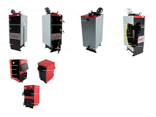 бу Твердотопливный котел Marten Comfort MC-24 кВт Доставка бесплатно в Сумах