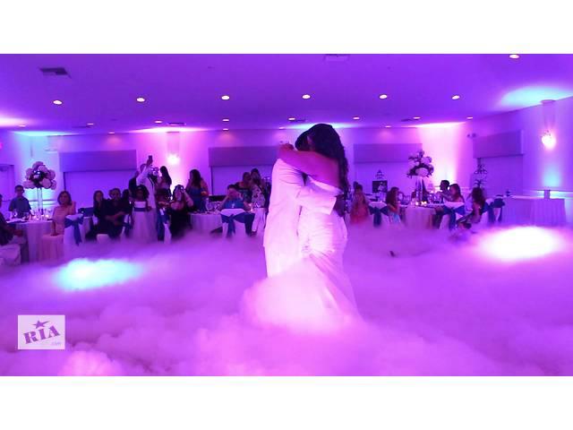 бу Тяжелый дым,Ice fog,генератор дыма,аренда дыма на свадьбу,дым машина. в Киеве