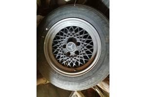 Титанові литі диски Mercedes Benz з гумою hankook optima