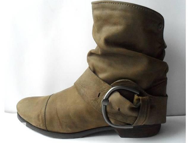 купить бу Удобные кожаные ботинки. размер 41 в Калуше