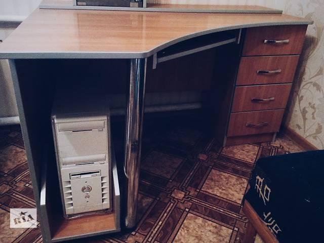 купить бу Угловой компьютерный стол для школьника и студента в Краматорске