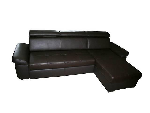 Угловой кожаный диван FX15 B9. Цвет коричневый. В наличии- объявление о продаже  в Киеве