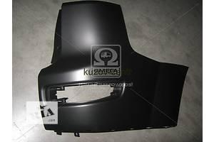 Новые Клыки бампера Mitsubishi Outlander