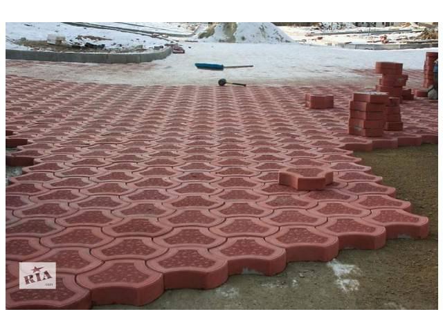 купить бу Укладка тратуарная плитки качественно от 45 грн. за кв. м. в Днепре (Днепропетровск)