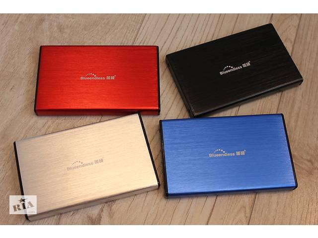купить бу USB 3. 0 Внешний карман SSD карман HDD 2. 5 для винчестера Blueendless, переносной диск, коробка для в в Ровно