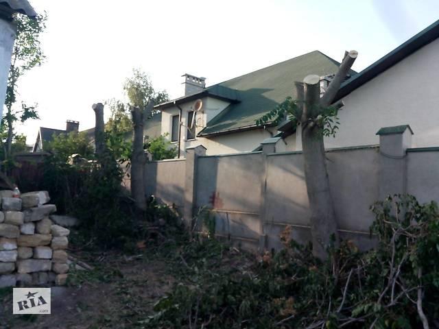 бу услуги по покосу травы, спилу деревьев в Одессе