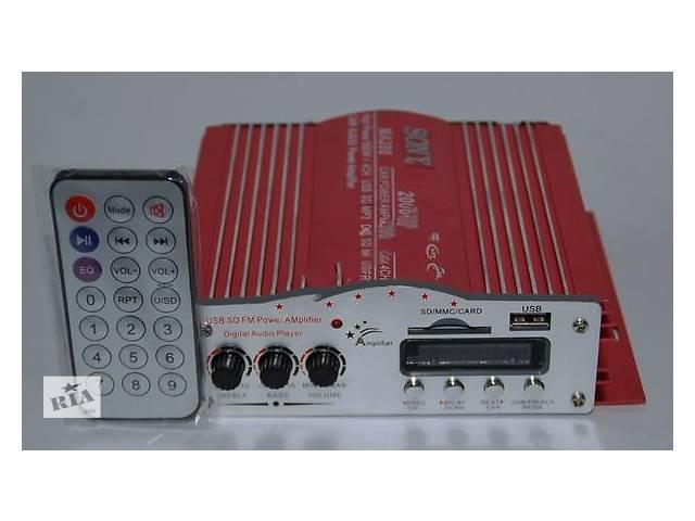 Усилитель звука UKC MA-200 USB+Mp3 4*55W- объявление о продаже  в Виннице