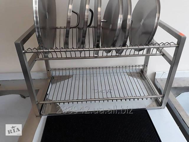 продам Сушки (сушилки) для посуды из нержавеющей стали бу в Мелітополі