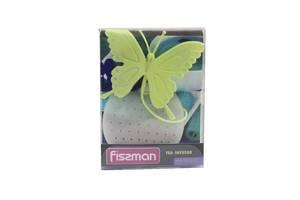 Сито для заваривания чая Fissman Бабочка силикон микс цветов 7519 F