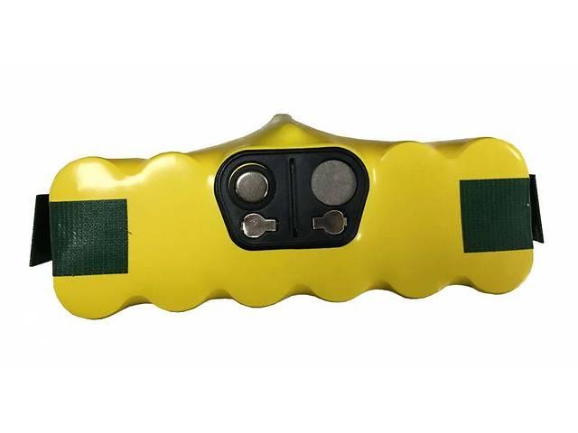 купить бу Аккумулятор для пылесоса iRobot Roomba 500 2500mAh 14.4V желтый в Харкові