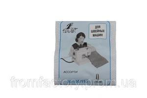 Иголки для бытовых швейных машин ассорти  (10 игл)