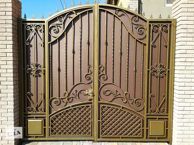 продам Ворота, калитки, заборы, двери, решетки, лестницы,ограждения, художественная ковка, навесы, козырьки бу в Маріуполі