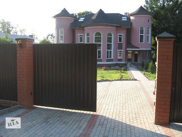 Ворота відкатні- объявление о продаже  в Львове