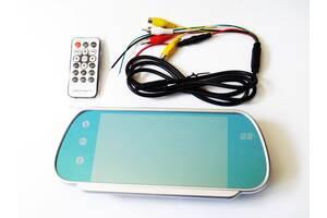 7'' Монитор-зеркало для камеры заднего вида Full HD MP5 Bluetooh