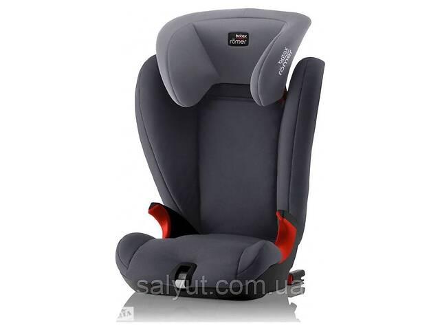 купить бу Автокресло Britax-Romer Kidfix SL Black Series Storm Grey  в Украине