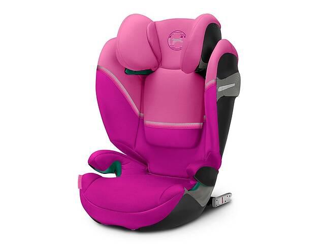 продам Автокресло Cybex Solution S i-Fix Magnolia Pink purple (520002415) бу в Киеве