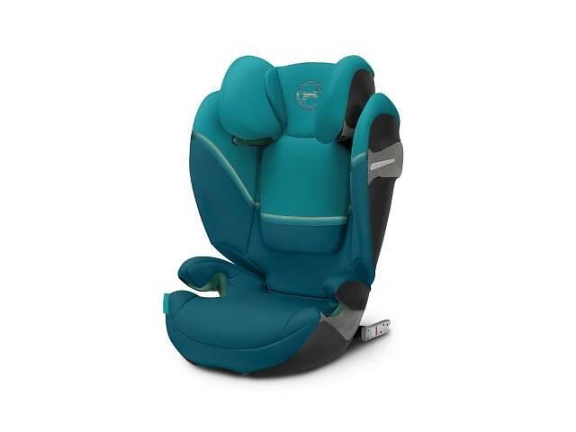продам Автокресло Cybex Solution S i-Fix River Blue turquoise (520002411) бу в Харькове