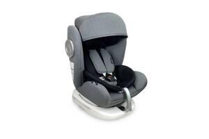 Автокресло Lorelli Lusso + sps + Isofix 0+/1/2/3 (0-36 кг) Серый