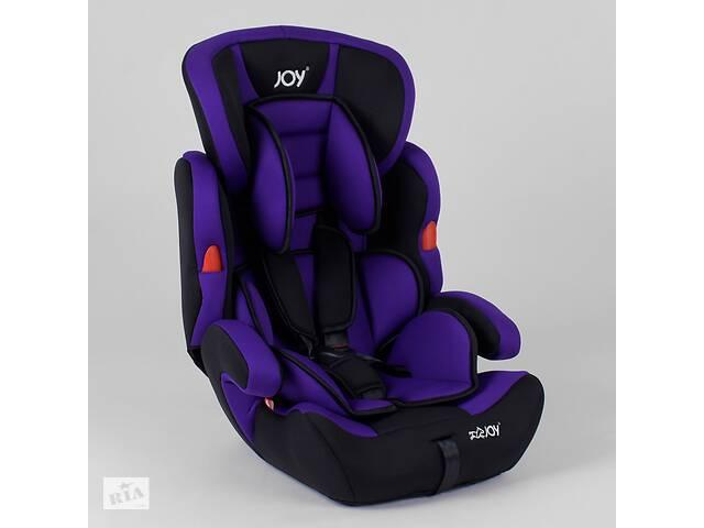 продам Автокресло JOY NB-9777 (4) цвет черно-фиолетовый, универсальное от 9 до 36 кг бу в Стрые