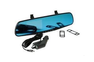 Автомобильный Зеркало-Видеорегистратор Vehicle Blackbox DVR Full HD L 6000 Черный/