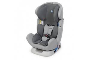 Детское автокресло для ребенка с ремнем безопасности ME 1042 BRAVO Light Gray (0-36 кг) Светло-серый