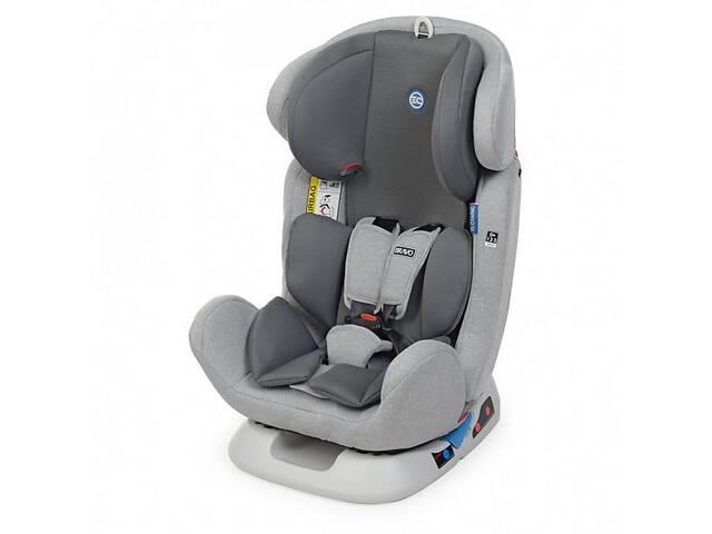 Детское автокресло для ребенка с ремнем безопасности ME 1042 BRAVO Light Gray (0-36 кг) Светло-серый- объявление о продаже  в Львове