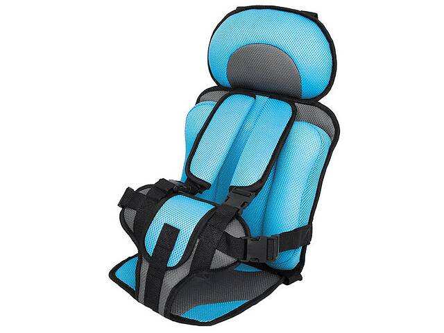 Детское автомобильное бескаркасное кресло Changbvss Голубое (M_DT_070419_34-1)- объявление о продаже  в Киеве