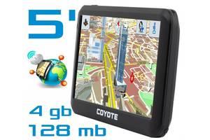 GPS навігатор COYOTE 528 MATE 5 дюймів RAM 128mb, ROM 4Gb з картами навігації