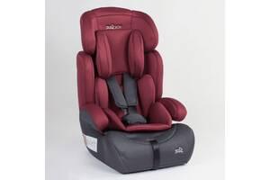 КАЧЕСТВЕННОЕ Детское автомобильное кресло JOY 76838 Красный, группа 1/2/3, от 9-36