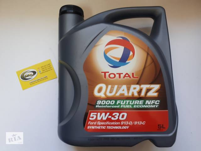 продам  Олива моторна QUARTZ 9000 FUTURE NFC 5W-30 5л  бу в Харькове