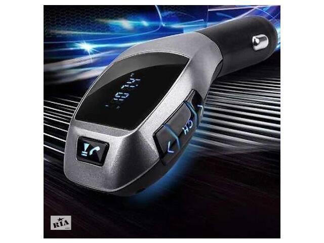 купить бу Трансмиттер FM модулятор H20BT для автомобиля с Bluetooth, mp3 в Одессе