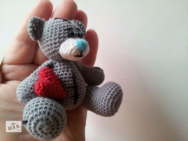продам Вязанная игрушка Мишка Тедди бу в Харькове