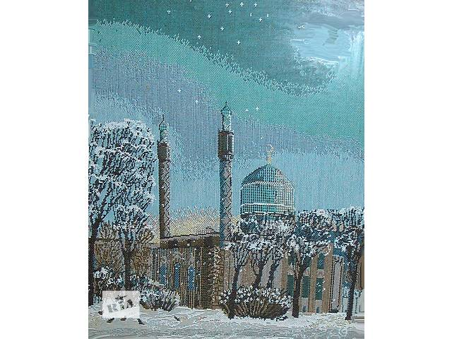 купить бу Вышитая картина «Санкт Петербургская мечеть» в Киеве